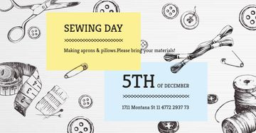 Sewing day event on Tools pattern