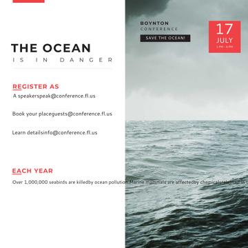 Boynton conference Ocean is in Danger