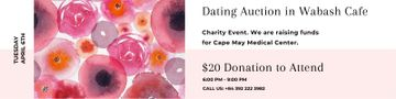 Dating Auction in Cafe