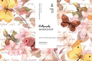 Calligraphy workshop Annoucement