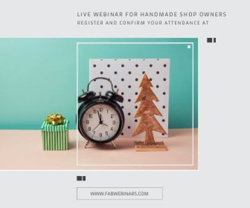 Live webinar for handmade shop owners