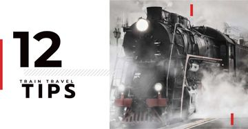 Train travel tips with old train