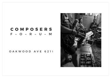 Composers Forum in Clayton Residence