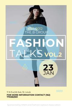 Fashion talks Announcement