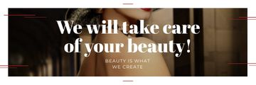 Citation about care of beauty
