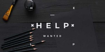 Help wanted Ad for workshop
