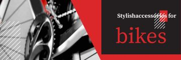 Banner for bicycle store