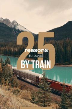 Train travel advantages