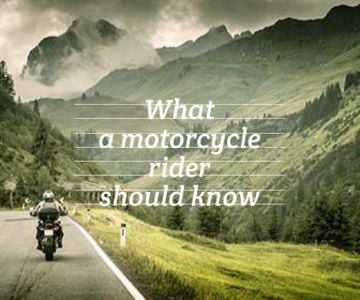 refresher for motorcycle rider background