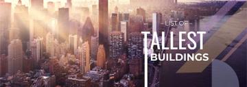 Modern City Tallest Buildings View