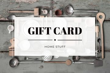 Gift card for store of homestuff