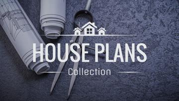 House plans collection with blueprints