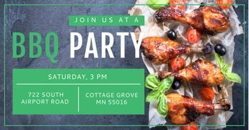 BBQ party Invitation