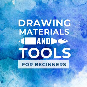 Drawing Materials and Tools Store