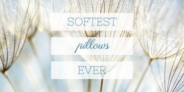 Softest pillows advertisement