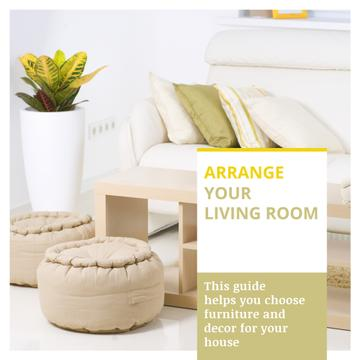Home Decor Tips with Cozy Interior in Light Colors