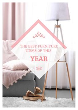 Furniture showroom advertisement
