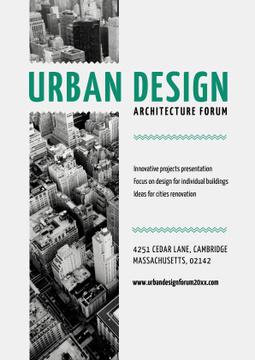 Urban Design architecture forum