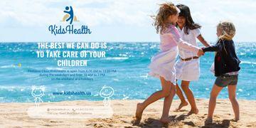 Kids clinic advertisement