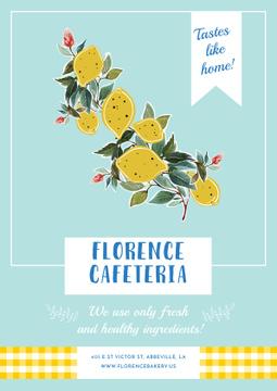 Florence cafeteria Invitation