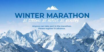 Winter marathon announcement