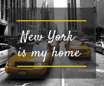 Taxi Cars in New York