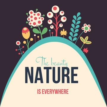 Beauty of Nature illustration