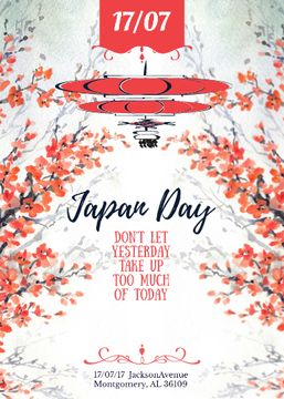 Japan day announcement with Sakura