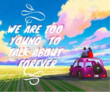 Youth Quote People on Car admiring view