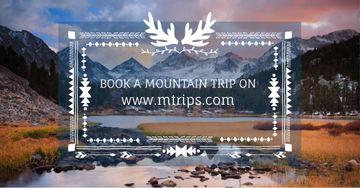 Mountain hike trip announcement