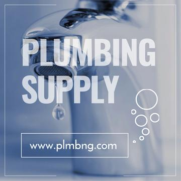 Plumbing supply Shop promotion