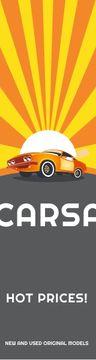 Car sale advertisement