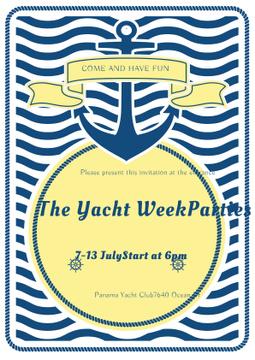 Yacht week parties announcement