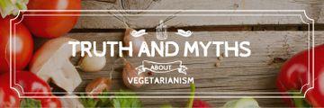 Vegetarian Food Vegetables on Wooden Table