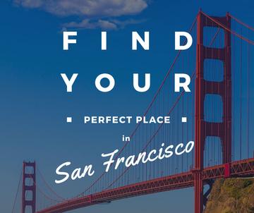 San Francisco Scenic Bridge View