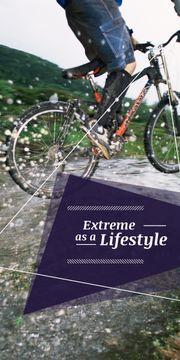 extreme lifestyle motivational poster