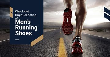 Advertisement for sportswear store