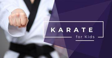 Karate club for kids