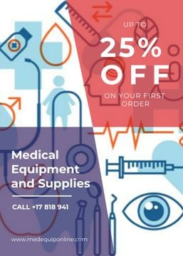 Medical equipment and supplies ad