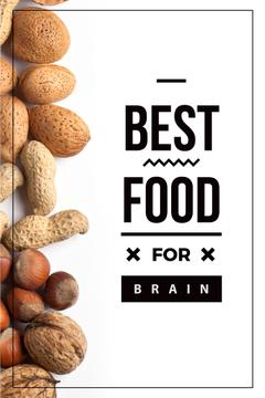 Best food for brain Quote with nuts