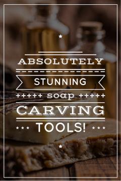 Сarving tools advertisement