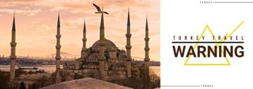 Tour Invitation with Turkey Famous Travelling Spot