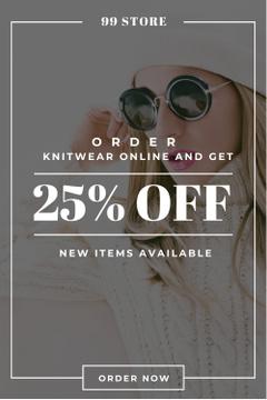 Online order discount
