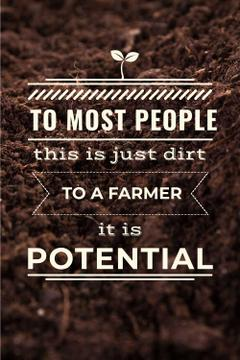 Quotation about Agriculture