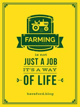 Agricultural Quote Tractor Icon in Yellow