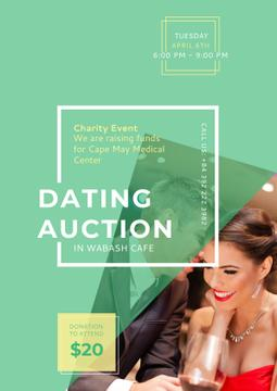 Dating Auction Annoucement