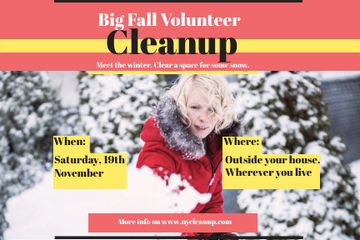 Winter Volunteer clean up