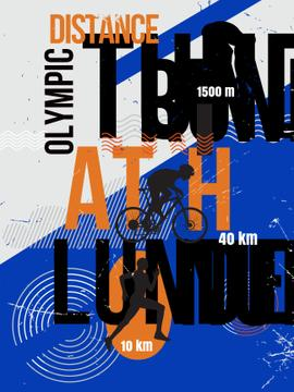 Triathlon distance race announcement
