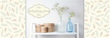 Home Decor Advertisement Vases and Baskets