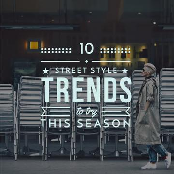 Stylish Woman on City Street